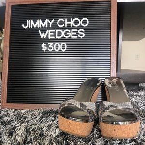 ✨ Jimmy Choo Wedges ✨